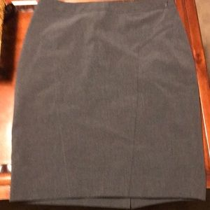 Grey size 6 the limited collection skirt